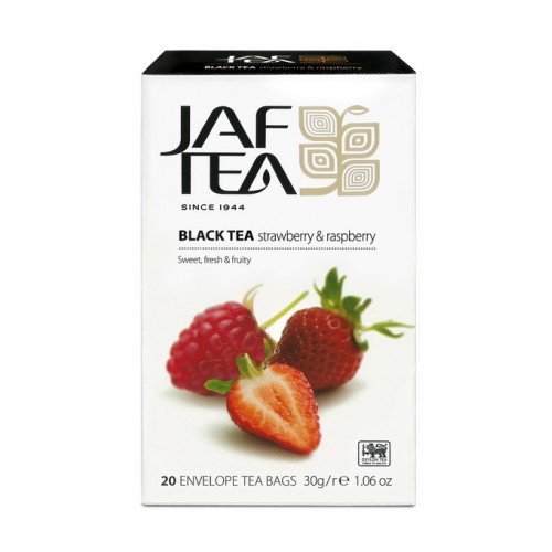 JAFTEA Black Strawberry & Raspberry 20x1,5g