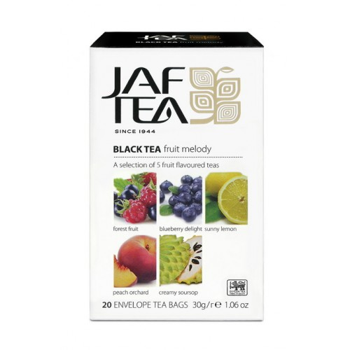 JAFTEA Black Fruit Melody 4x5x1,5g (2855)