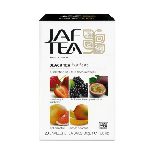 JAFTEA Black Fruit Fiesta 4x5x1,5g (2856)