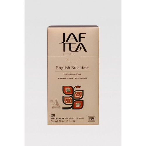 JAFTEA Pyramid Black English Breakfast 20x2g (2900)