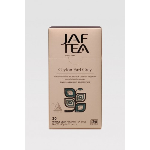 JAFTEA Pyramid Black Earl Grey 20x2g (2904)