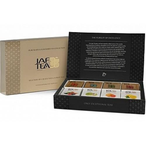 JAFTEA Box Pure Black & Flavoured 8x10x2g/1,5g (2912)