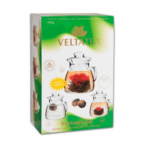 VELTA kvitnúci čaj Green Mix 30 kusov kazeta (3512)