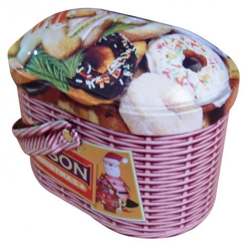 TIPSON Basket Christmas plech 100g (5000)