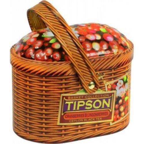 TIPSON Basket Cran & Lingonberries plech 100g (5006)