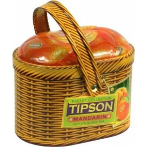 TIPSON Basket Mandarin plech 100g (5007)