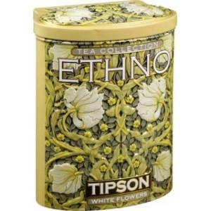 TIPSON Ethno White Flowers plech 100g (5008)