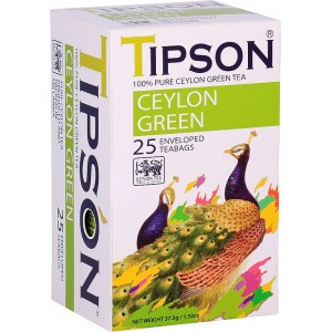 TIPSON Ceylon Green, 25x1,5g (7827)
