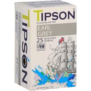 TIPSON Earl Grey, 25x2g (7829)
