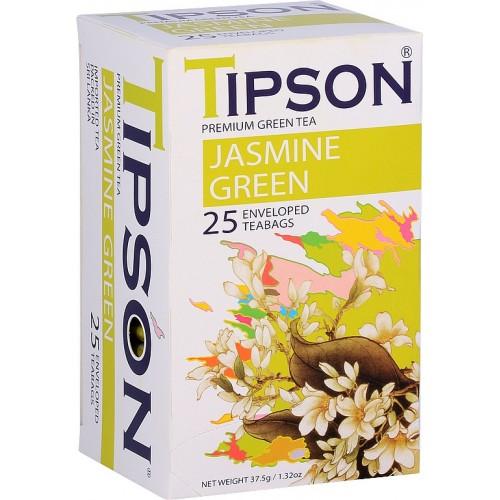 TIPSON Jasmine Green, 25x1,5g, (7828)