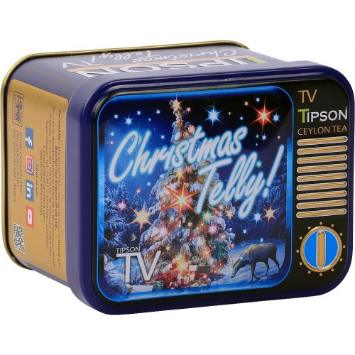 TIPSON TV Christmas Telly plech 25g (5012)