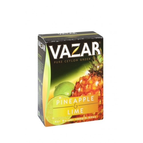 VAZAR Green Pineapple & Lime papier 100g (4009)