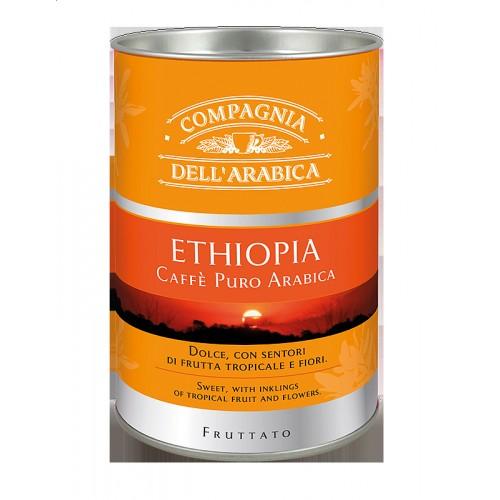 Káva Corsini Carton Tube Ethiopia, mletá, 125g (6301)