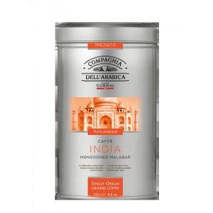 Káva Corsini India plech, mletá, 125g (6326)