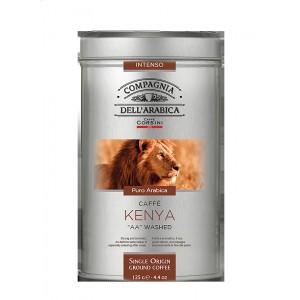 Káva Corsini Kenya plech, mletá, 125g (6327)