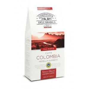 Káva Corsini Single Colombia Medellin Supremo mletá 125g (6241)