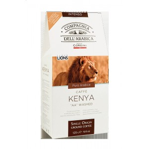 "Káva Corsini Single Kenya ""AA"" Washed, mletá, 125g (6242)"