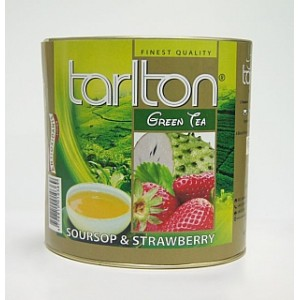 TARLTON Green Soursop & Strawberry dóza 100g (6983)