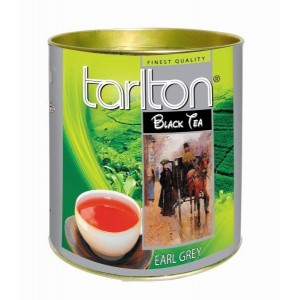 TARLTON Black Earl Grey dóza 100g (6990)