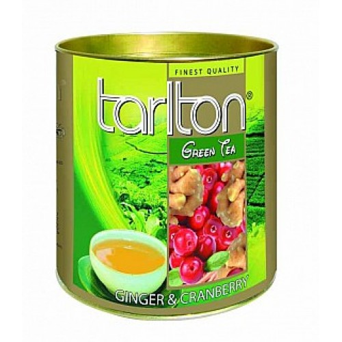 TARLTON Green Ginger & Cranberry dóza 100g (6992)