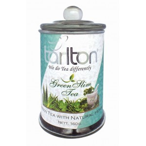 TARLTON Green Slim Tea sklo 160g (7260)
