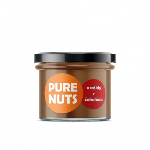 PURE NUTS Arašidy + čokoláda, 200g