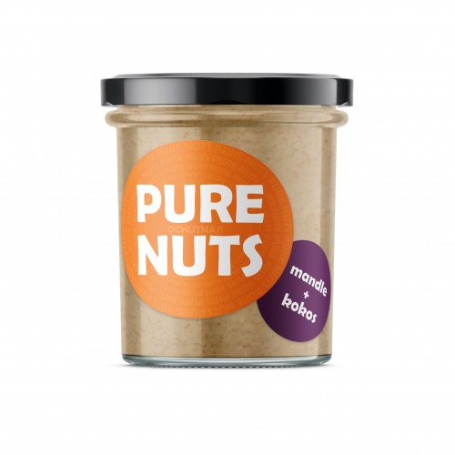 PURE NUTS Mandle + kokos, 330g