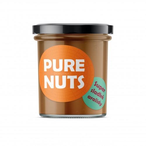 PURE NUTS Super sladké arašidy, 330g