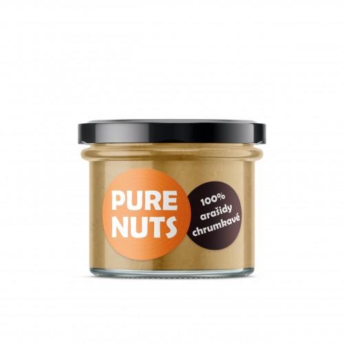 PURE NUTS 100% arašidy chrumkavé, 200g