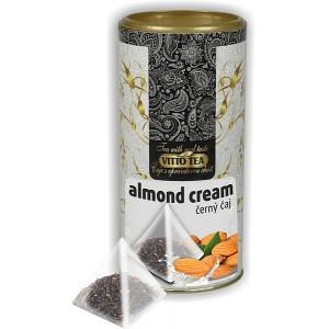 VITTO Tea Tubus Almond cream čierny čaj pyramida 15x1,5g (982)
