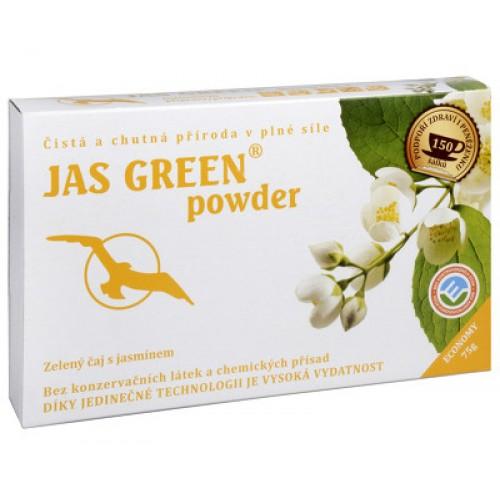 Jas Green powder - zelený čaj s jazmínom 75g