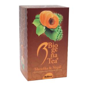 Biogena Tea Marhuľa & Nopál 20x2,5g