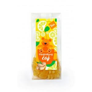 Medvedíkový čaj s príchuťou citrónu a zázvoru (50g)