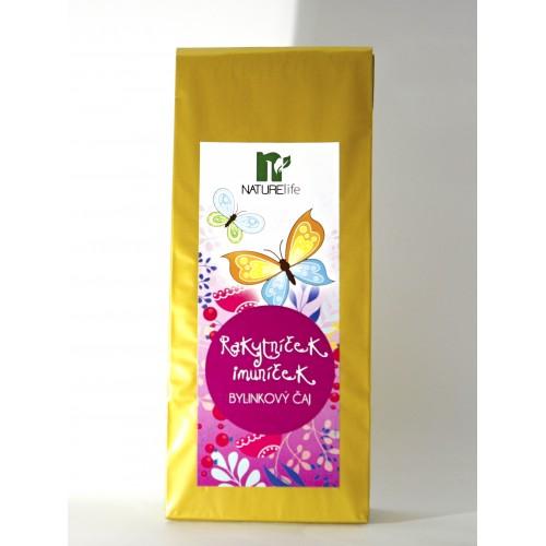 Bylinný čaj- rakytníček imuníček