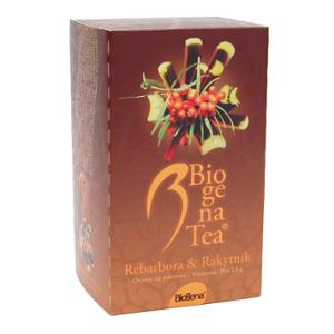 Biogena Tea Rebarbora & Rakytník 20x2,5g