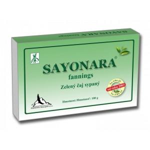 Sayonara fannings - zelený čaj sypaný 100g