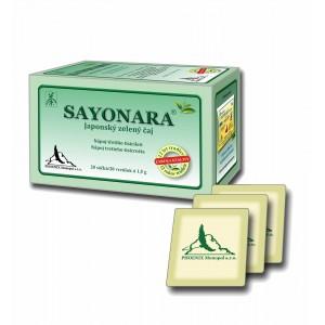 Sayonara - zelený čaj nálevové sáčky (20x1,5g)