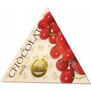 SEVERKA Mliečna čokoláda s čerešňami 50g (9030)