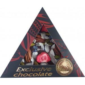 SEVERKA Mliečna čokoláda, jahody, pek. orechy (9044)