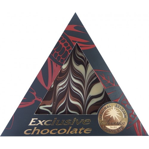 SEVERKA Horká čokoláda - tri farby 50g (9053)