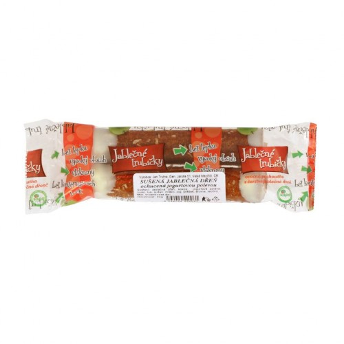 Jablkové trubičky s jogurtom 2ks