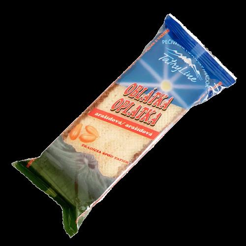 Pečivárne Liptovský Hrádok TATRY LINE arašidová oblátka, 50g
