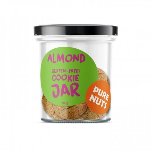 PURE NUTS Almond COOKIE JAR 90g