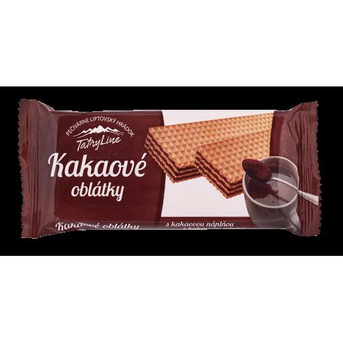 Pečivárne Liptovský Hrádok TATRY LINE KAKAOVÉ OBLÁTKY, 40g