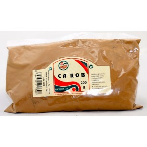 SUNFOOD CAROB chlieb svätojánsky, 200g