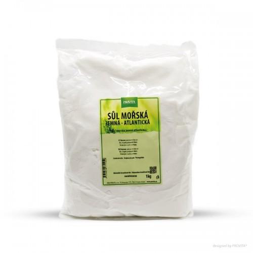 Provita soľ morská, jemná atlantická, 1kg