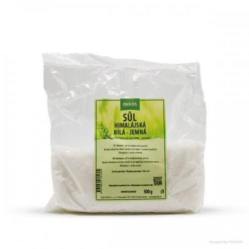 PROVITA himalájska soľ biela, jemná, 500g