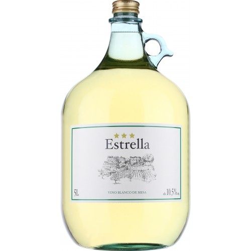 ESTRELLA Biele víno suché 5 l