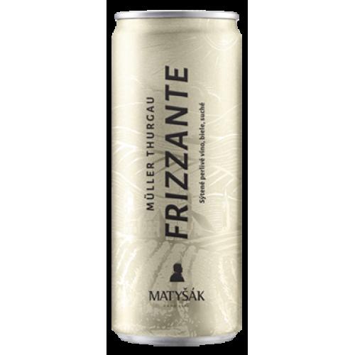 Matyšák Frizzante biele plech 0,25 l