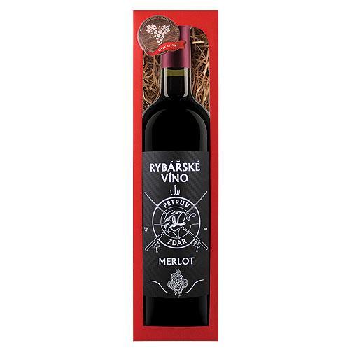 Rybárske víno, Merlot 0,75l